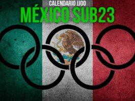Calendario de juegos México sub 23 en Juegos Olímpicos Tokio 2020