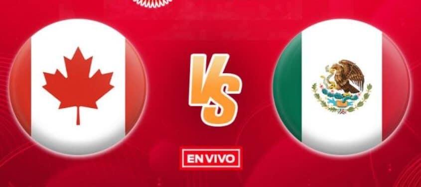 Cuando juega, donde y cómo ver el juego México vs Canadá en vivo hoy