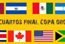 Emparejamientos de Cuartos de Final Copa Oro 2021