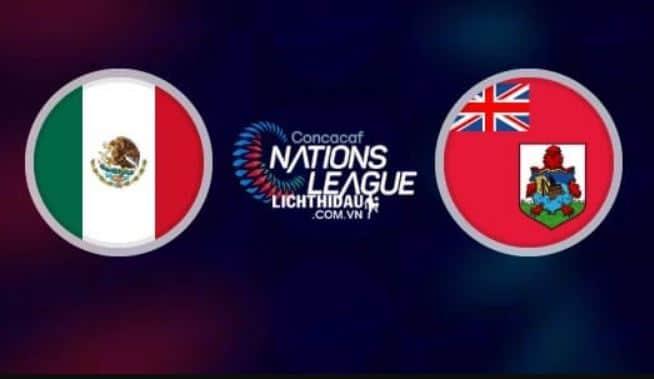 Donde y cómo ver el juego México vs Bermuda en vivo hoy