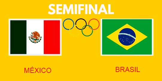 Donde y cómo ver el juego México vs Brasil en directo