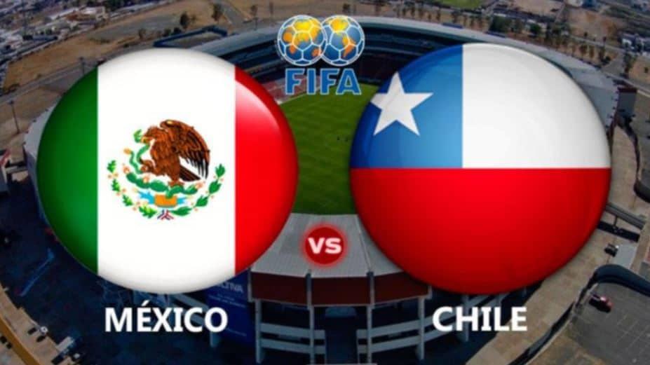 Donde y cómo ver el juego México vs Chile en vivo hoy
