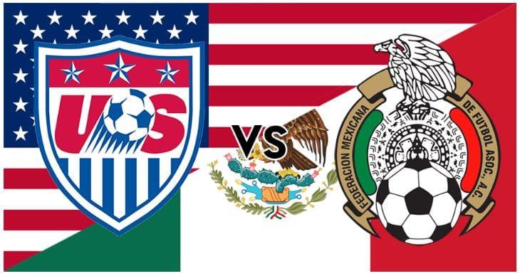 Donde y cómo ver el juego México vs USA en vivo hoy
