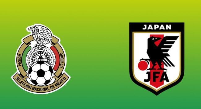Donde y cómo ver el juego México vs Japón en vivo hoy