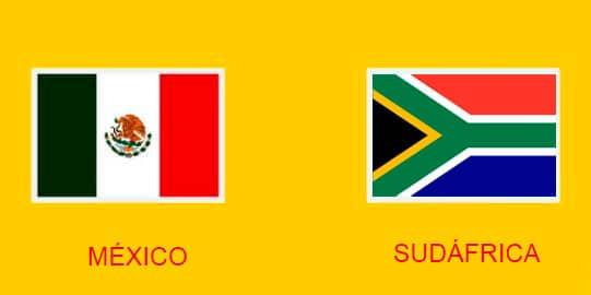 Donde y cómo ver el juego México vs Sudáfrica en directo