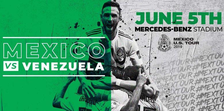 Donde y cómo ver el juego México vs Venezuela en vivo hoy